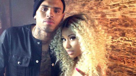 Hot Shots:  Chris Brown & Nicki Minaj Share More From 'Love More' Set