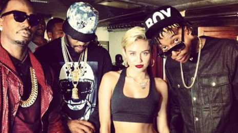 Hot Shots: Miley Cyrus Shoots '23' Video / Slammed By Her Own Father?