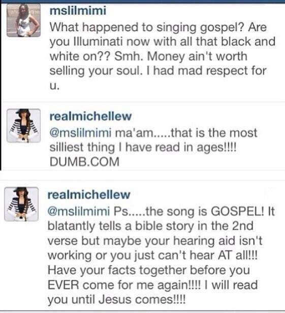 537950 10201377071801092 905645602 n Michelle Williams Vs. Instagram Follower:  I Will Read You Until Jesus Comes