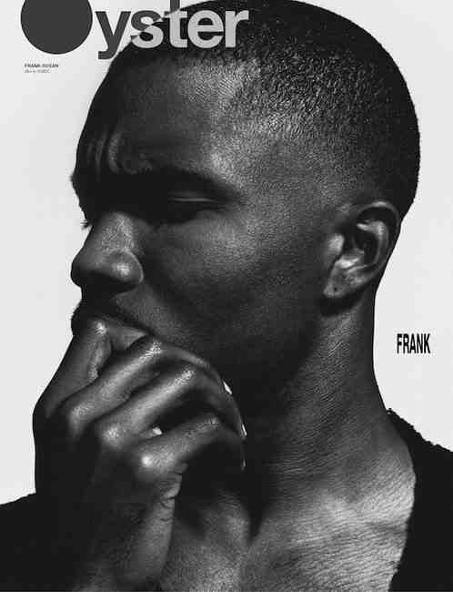 Frank ocean oyster magazine that grape juicepg Hot Shots: Frank Ocean Sizzles For Oyster Magazine