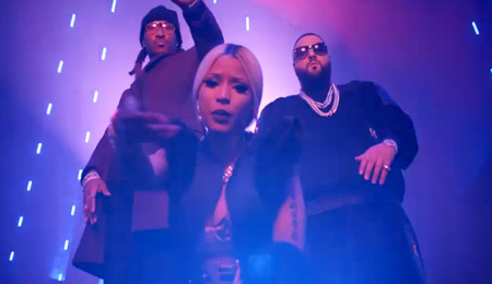 New Video: DJ Khaled - 'I Wanna Be With You (Ft Nicki Minaj, Future & Rick Ross)'