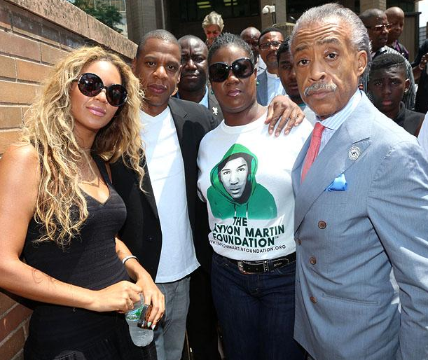 beyonce jay z trayvon martin rally that grape juice Beyonce & Jay Z Top Forbes Highest Paid Couples Of 2013 List
