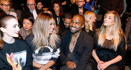 ciara kanye west kim kardashian that grape juice Watch: Ciara Joins Kanye West & Kim Kardashian At Paris Fashion Week