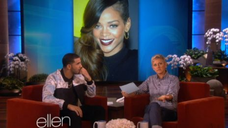 Watch:  Drake Drops By 'Ellen', Dishes On Relationship With Rihanna & More