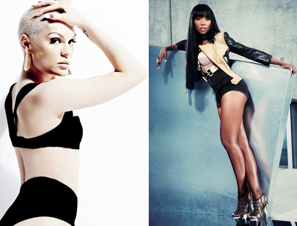 jessie j brandy that grape juice New Song: Jessie J   Conquer The World (Ft Brandy)