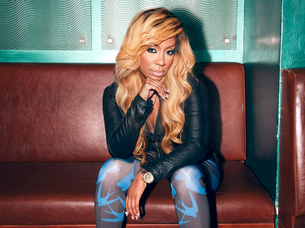 Michelle On Tamar Braxton   I m Trying To Stay Positive    K.michelle Hairstyles 2014