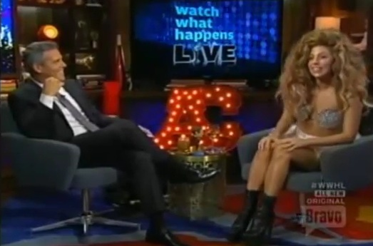 Must See Lady Gaga Talks New Beyonce Duet Artpop Tour More On Watch What Happens Live That Grape Juice