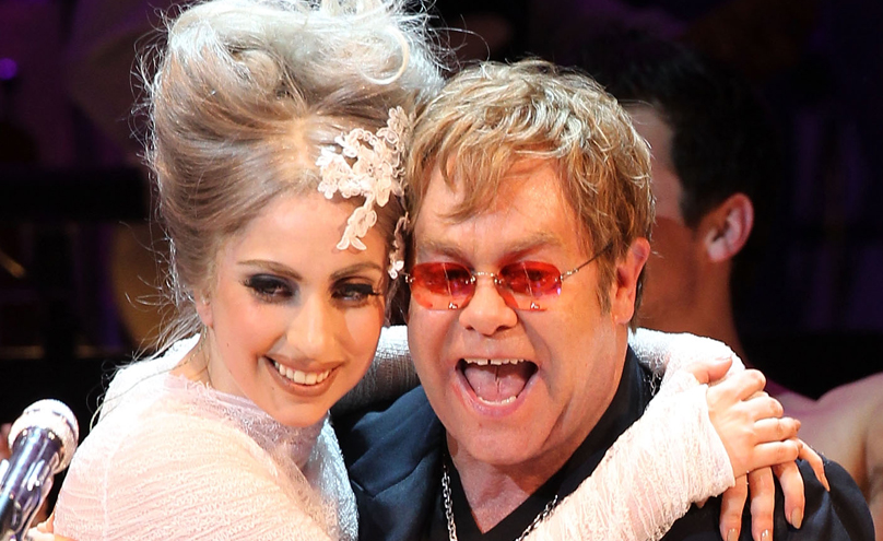 lady gaga elton john that grape juice Elton John Weighs In On Miley Cyrus And Lady GaGa : I See A Meltdown Waiting To Happen