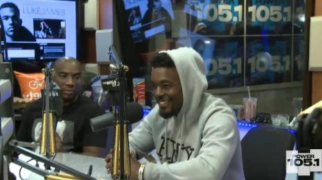 Watch: Luke James Heats Up 'The Breakfast Club'