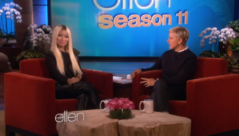 nicki minaj ellen that grape juice 2013 Watch: Nicki Minaj Rocks Ellen For Minajesty