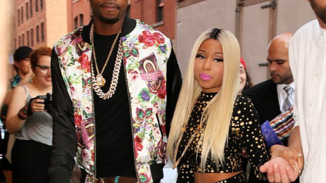Hot Shots: Nicki Minaj Steps Out For Jeremy Scott Fashion Show