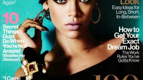 Rihanna Covers 'Glamour'