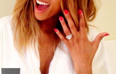 Hot Shots:  Ciara Flashes Huge Engagement Ring