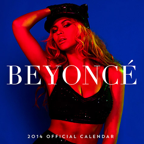 Beyonce Calendar 2014 uk Beyonce-2014-calendar-that