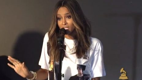 Watch: Ciara Performs 'Overdose', 'Read My Lips', & 'DUI' & More For Grammy's
