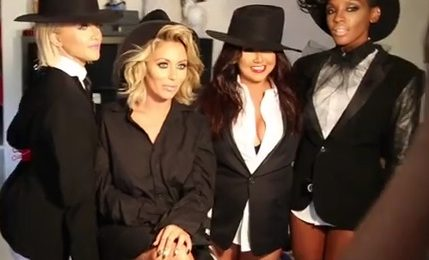 Behind The Scenes: Danity Kane Dazzle In First Photoshoot In Five Years
