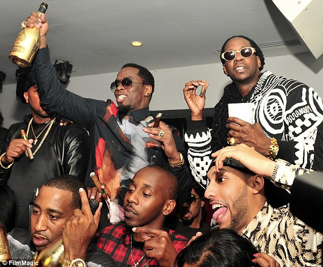 diddy bet hip hop awards party that grape juice 2013 Hot Shots: Lil Kim Joins Diddy For BET Hip Hop Awards Celebration