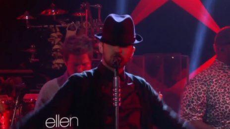 Watch: Justin Timberlake Takes Over 'Ellen' / Talks NSync Reunion / Performs 'TKO' & 'True Blood'