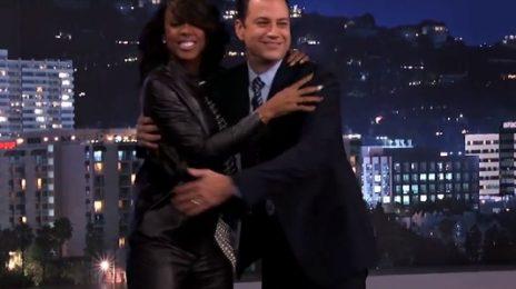 Watch: Kelly Rowland Visits 'Jimmy Kimmel Live'