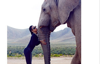 Hot Shots: More From Rihanna's South African Safari Adventure