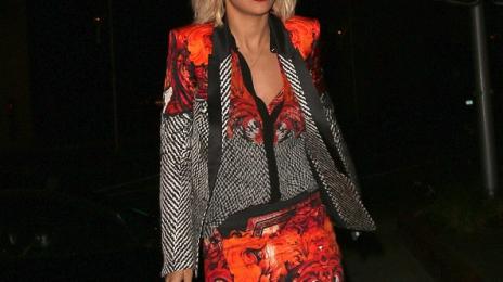 Watch: Rita Ora & Calvin Harris Dine At 'Hakkasan'