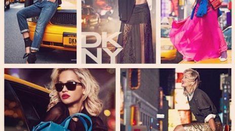Hot Shot: Rita Ora Stuns For DKNY
