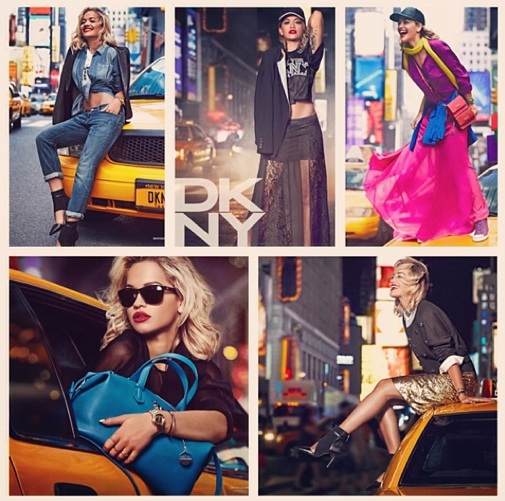 rita ora dkny Hot Shot: Rita Ora Stuns For DKNY