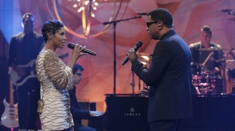 Watch:  Toni Braxton & Babyface Blaze 'Tonight Show With Jay Leno' Stage