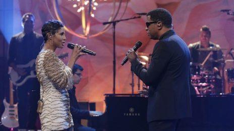 Watch:  Toni Braxton & Babyface Blaze 'Tonight Show With Jay Leno' Stage