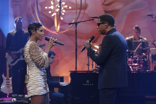 tonib babyface Watch:  Toni Braxton & Babyface Blaze Tonight Show With Jay Leno Stage