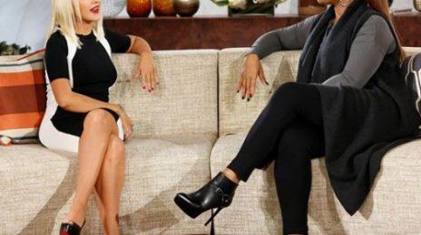 Hot Shot: Christina Aguilera Stuns On 'The Queen Latifah Show'