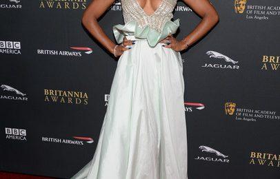 Hot Shots:  Kelly Rowland Captivates at 2013 'BAFTA' Awards