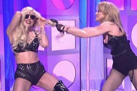 MadonnaGaga Lady Gaga Opens Up About Madonna Feud / Hoped To Piss Off The Pop Queen?