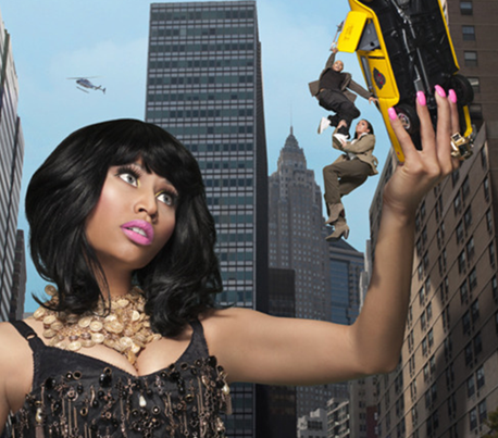 NICKI MINAJ SHE IS DIVA 1 THAT GRAPE JUICE 1 Beyonce & Nicki Minaj Push Pandora Revenue Rise