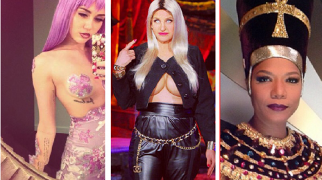 A Hollywood Halloween:  Who Had the Best Costume?