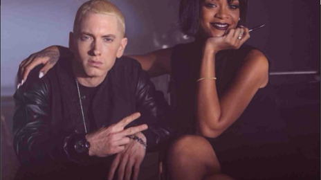 Hot Shot:  Eminem & Rihanna Ready 'Monster' Video As 'MMLP2' Hits Platinum