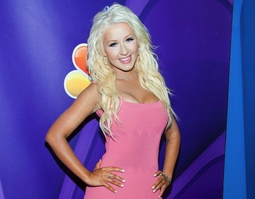 christina aguilera tgj Christina Aguilera Rockets To #1 With New Single