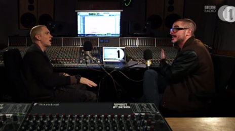 Watch: Zane Lowe Interviews Eminem (Parts 1-4)