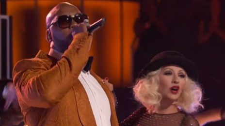 Watch:  Christina Aguilera Rocks 'The Voice' With Flo Rida