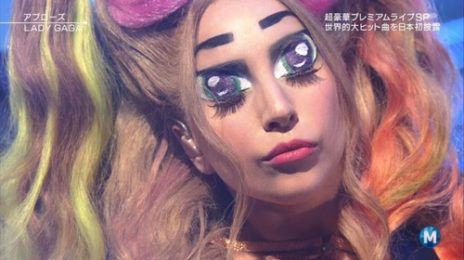 Watch: Lady GaGa Performs 'Applause' On Music Station Japan