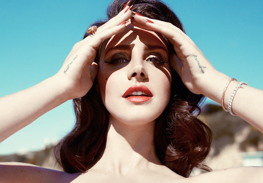lana del rey that grape juice she is diva Behind The Scenes: Lana Del Rey Models Up For Nylon
