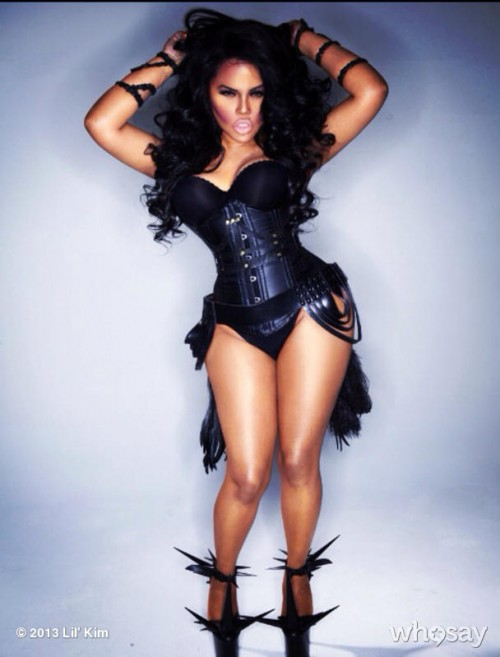 lil kim promo e1383423700262 Hot Shots: Lil Kim Poses In Racy Photoshoot {Updated}