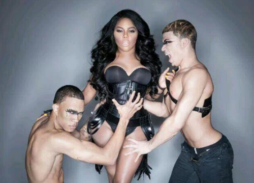 lil kim rolling out e1383421164406 Hot Shots: Lil Kim Poses In Racy Photoshoot {Updated}