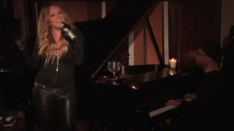 Must See: Mariah Carey Amazes With Impromptu Performance