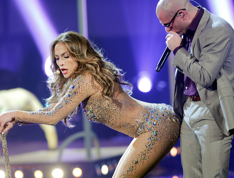 pitbull jennifer lopez that grape juice Pitbull Single Sales Surpass 40 Million Mark
