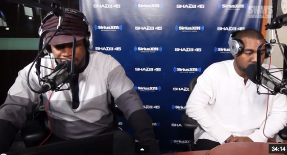 sway in the morning kanye west that grape juice1 Watch: Sway In The Morning Interviews Kanye West