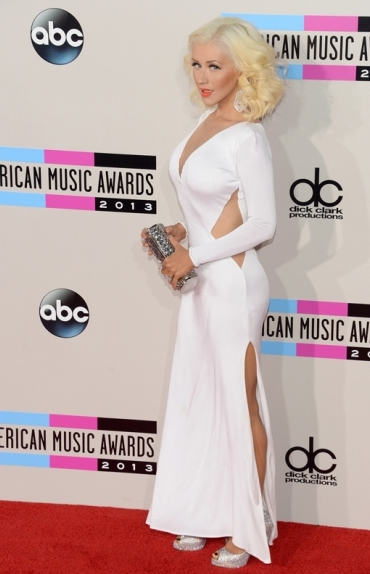 xtinaama2013 American Music Awards 2013: Red Carpet