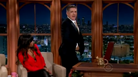 Kelly Rowland Celebrates Grammy Nomination On The 'Craig Ferguson' Show