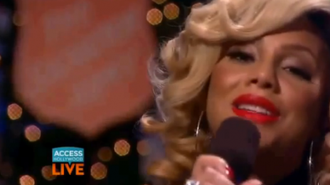 Watch:  Tamar Braxton Brings 'Silent Night' To 'Access Hollywood'