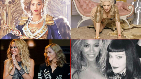 Hot Shots:  Madonna Showers Beyonce With Praise Via Instagram
